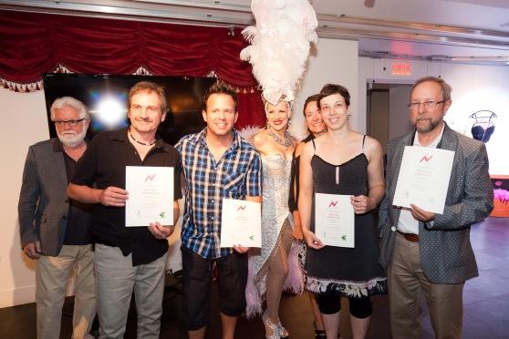 Artistes finalistes CIAV JPR 2014