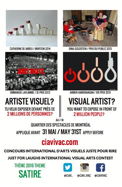 Affiche CIAV 2016